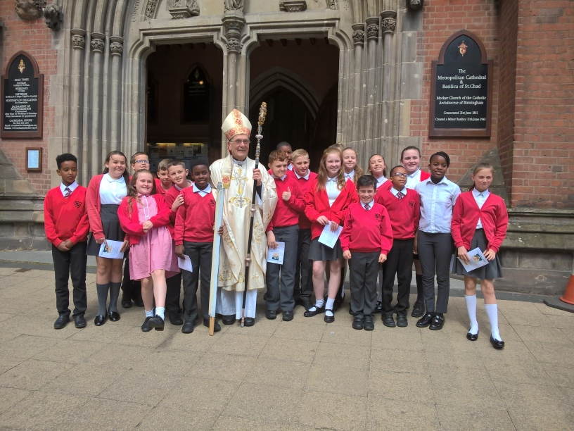 St Margaret Mary school at St Chad's Cathedral