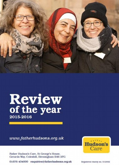 Annual Review 2015-16 cover