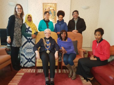 Lord Mayor at Fatima House