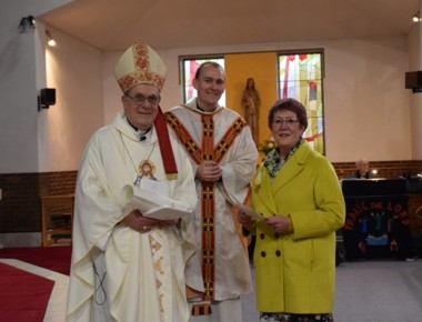 Sue and Bishop McGough